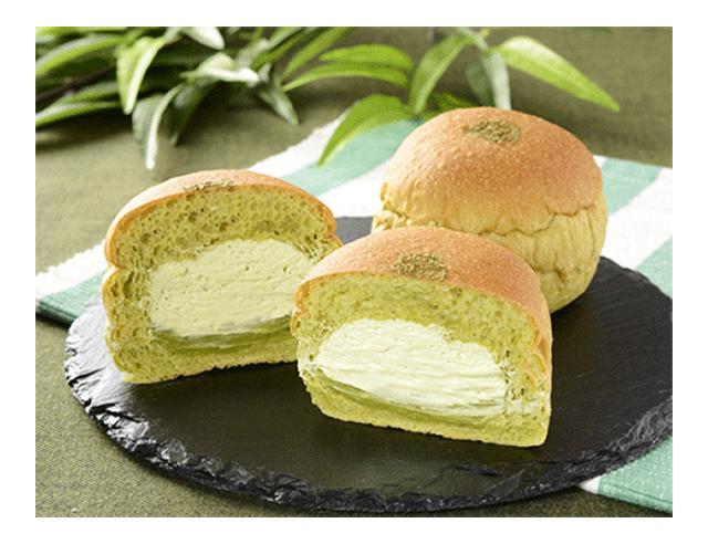 【ローソン】NL 大麦の抹茶ホイップパン(3月31日発売)
