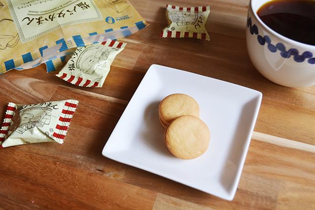 【カルディ】宝製菓 塩バタかまん