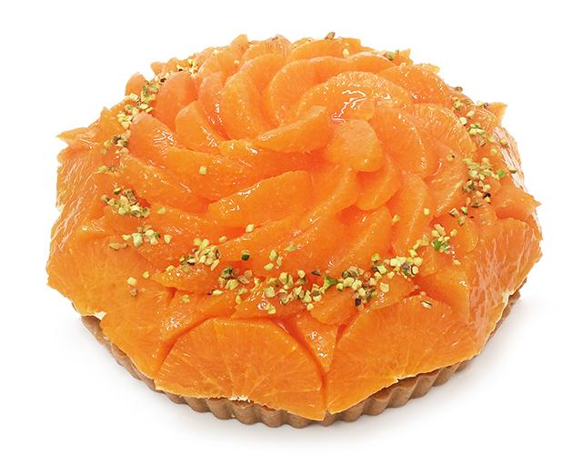 【カフェコムサ】「オレンジの日」限定ケーキ [銀座店]愛媛県 宇和島 山内農園産「せとか」とピスタチオレアチーズのケーキ