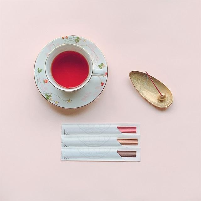 お香、香十、お香セット、アロマ、アロマテラピー、春、おうち時間、家、香り