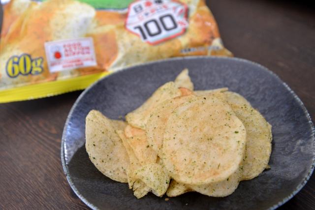チップス 塩 ポテト のり