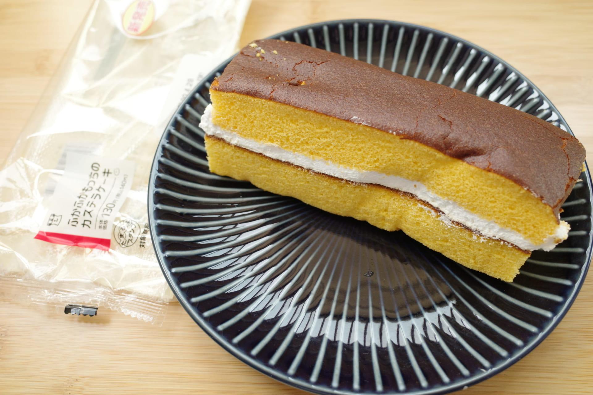 【ローソン新商品実食ルポ】おいしくてボリュームも満点「ふかふかもっちのカステラケーキ」