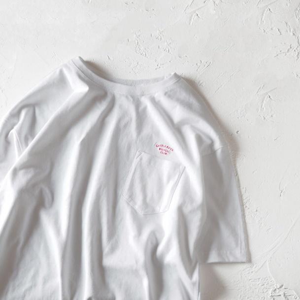 CBCドロップショルダーTEE ホワイト(Tシャツ)