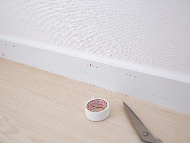 白マスキングテープ 防掃除 100均