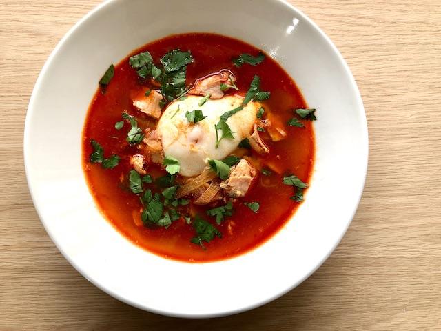 スペイン風にんにくスープ