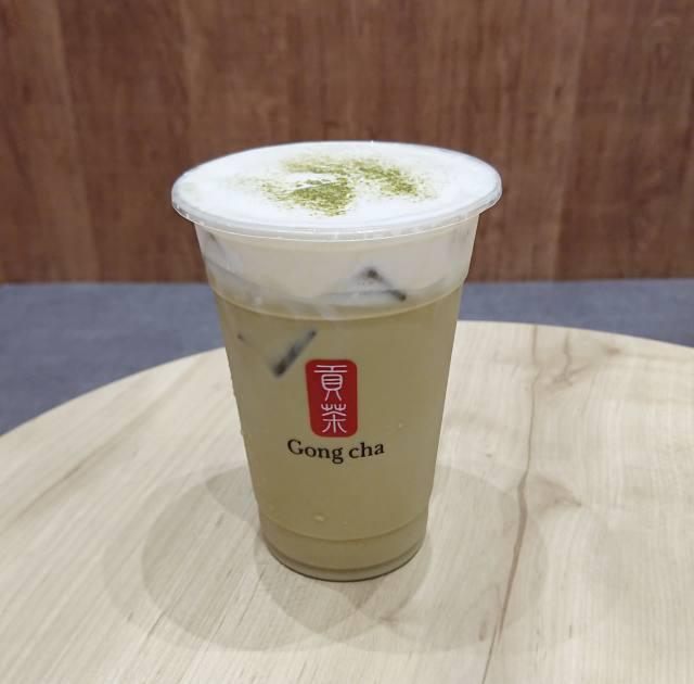 ゴンチャ「ほうじ茶ミルクティー」