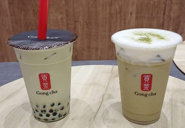 ゴンチャ「ほうじ茶ミルクティー」「玄米茶ミルクティー」