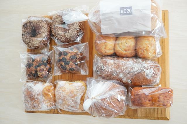 「お食事&おやつパン」袋に入った状態