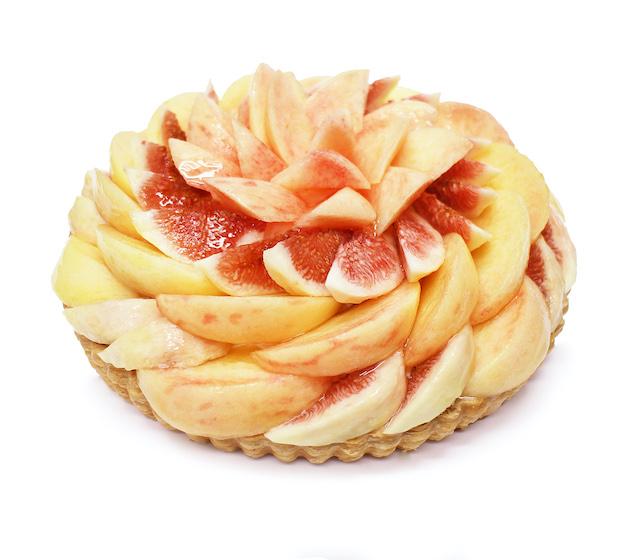 桃といちじくのケーキ