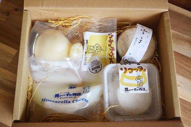 【敷信村農吉】コンテスト受賞チーズセット
