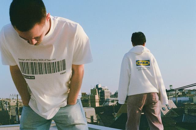 パーカーとTシャツ