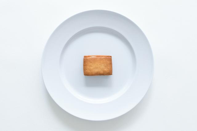 お皿に乗ったバターサンド