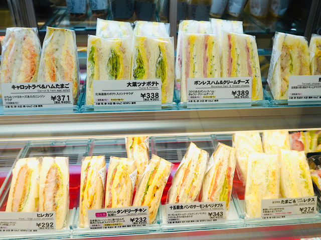 サンドイッチ売り場