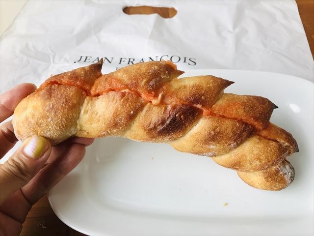 めんたいフランス 持ったところ