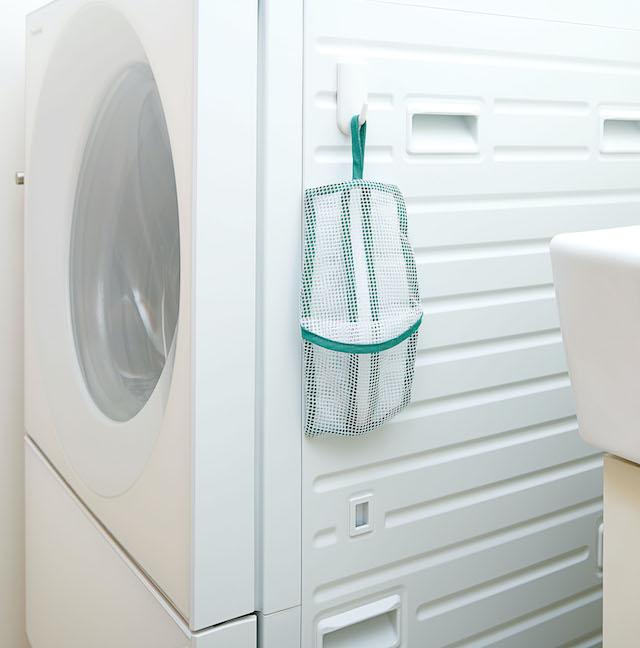 洗濯機にかけたネット
