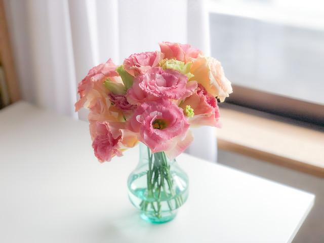iPhone Xで撮影し、Adobe Lightroomアプリで調整したお花の写真