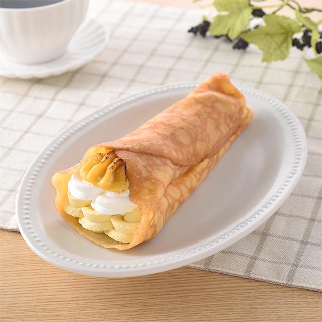 【ファミリーマート】安納芋のクレープ(8月18日発売)