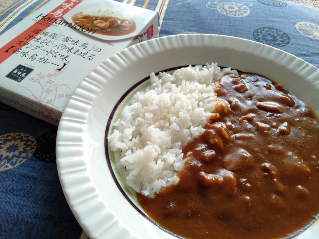 ご当地カレー福岡県の華味鳥カレー