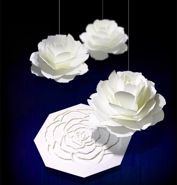 咲くようにひらく 花のメッセージカード〈ローズ〉 forバースデー・ウェディング・アニバーサリー