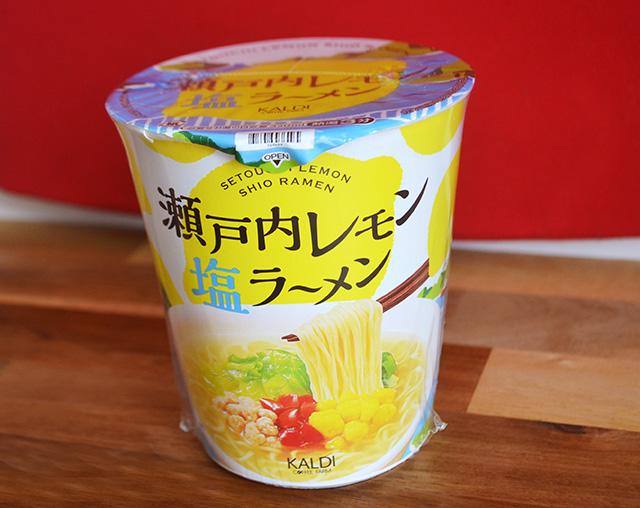 【カルディ】瀬戸内レモン塩ラーメン