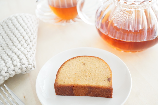 紅茶とケークオマロン