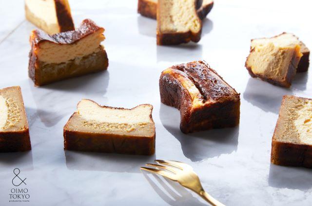 & OIMO TOKYO 蜜芋バスクチーズケーキ