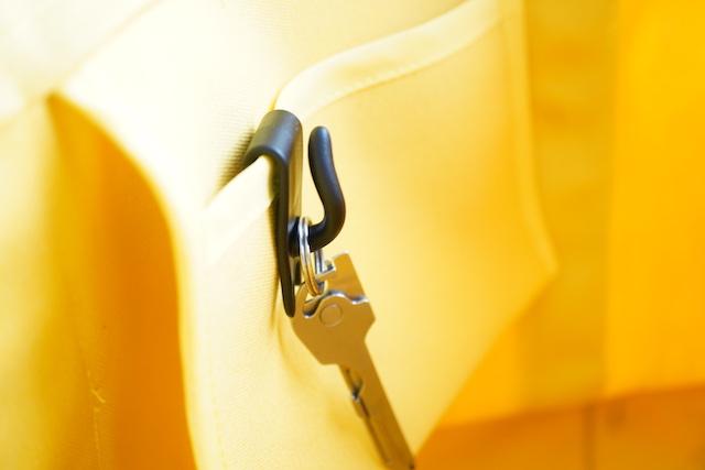 鍵をかけたキーテール