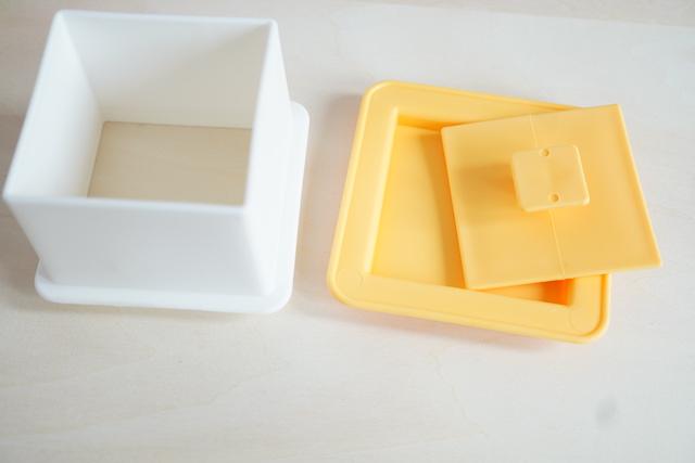 デコ寿司枠と底とフタ