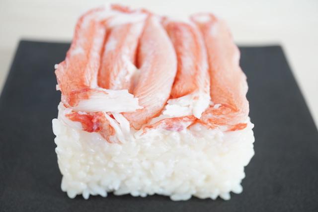 できあがった押し寿司