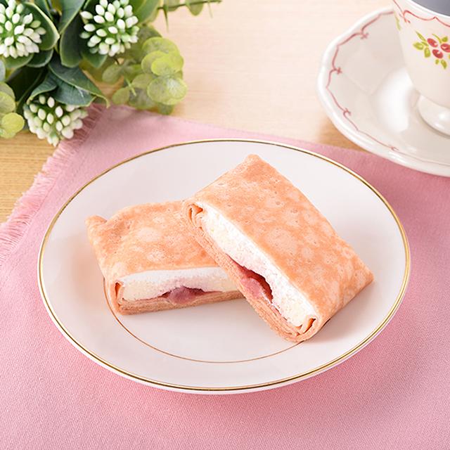 【ファミリーマート】苺レアチーズのもちもちクレープ(10月6日発売)
