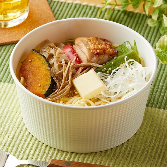 【ファミリーマート】やさいとたべるパスタいろいろ野菜のだしバタ(R)(10月6日発売)