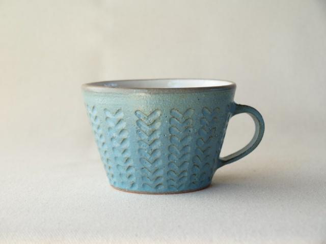 【再販】マグカップ ブルー双葉