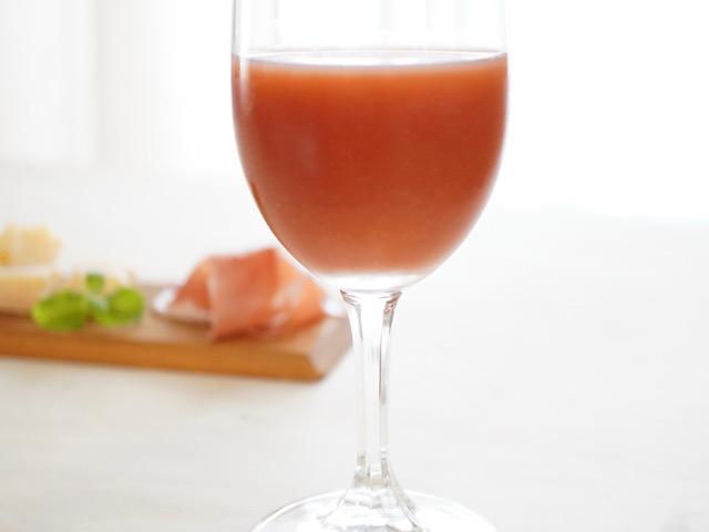 赤ワイン×ブラッドオレンジジュース
