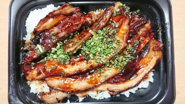 豚バラチャーシュー飯