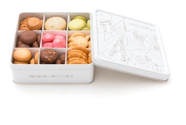 【パティスリー・サダハル・アオキ・パリ】バターの香りを楽しめる!缶入りクッキーが登場だよ | News