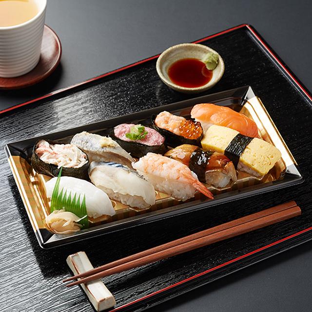 【ファミリーマート】にぎり寿司盛り合わせ(10貫)(10月20日発売)