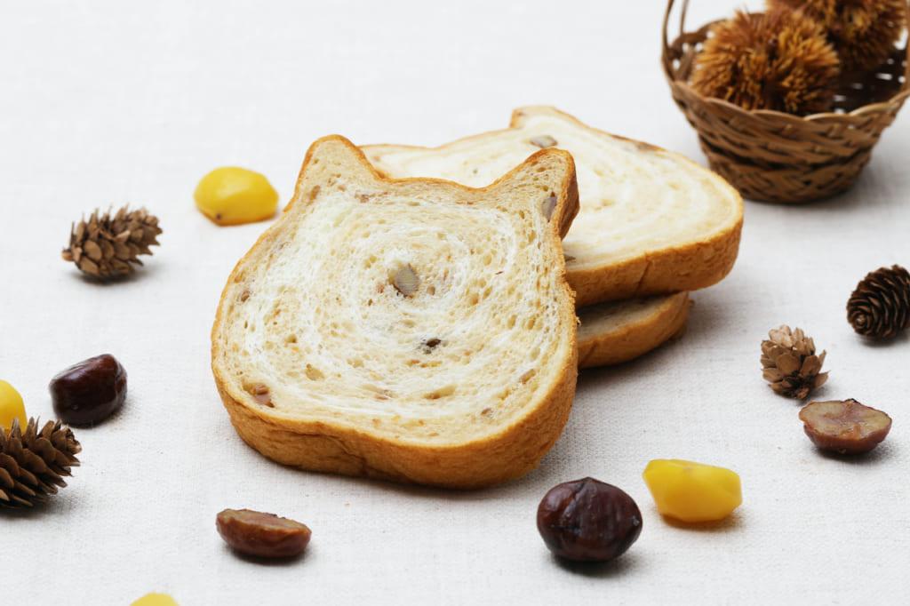 栗とねこねこ食パンモンブラン