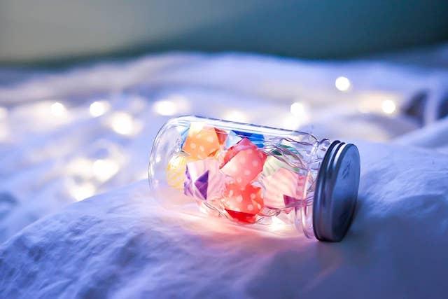 ガーランドライト:Candy bottle(LED12球)
