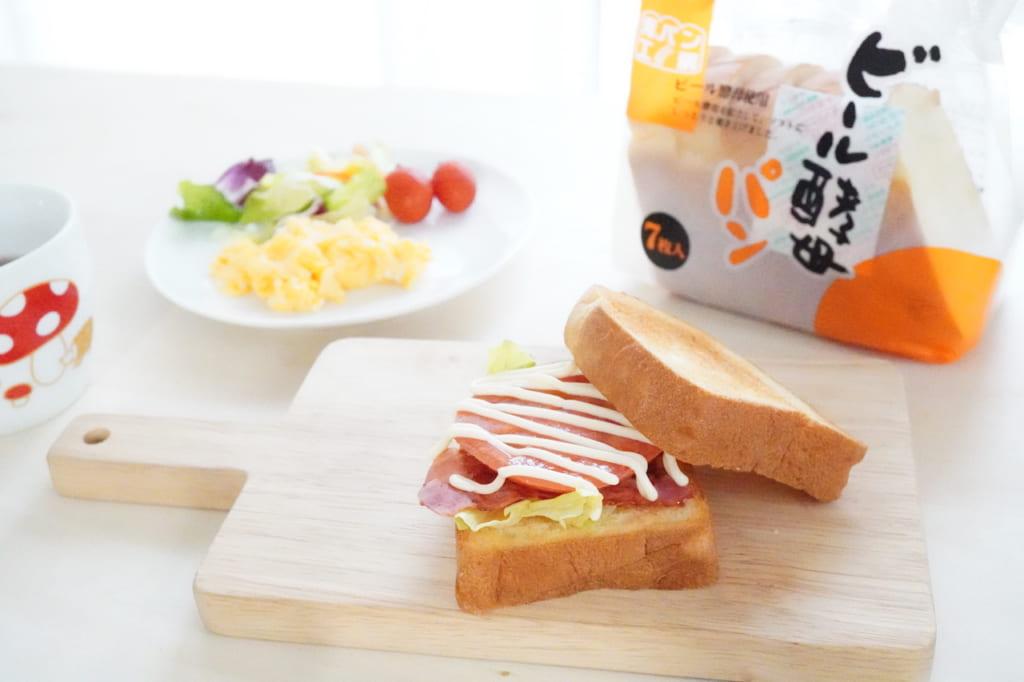 パッケージとサンドイッチ