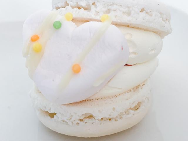間には自家製のいちごジャムが!まさにショートケーキそのままの味でした