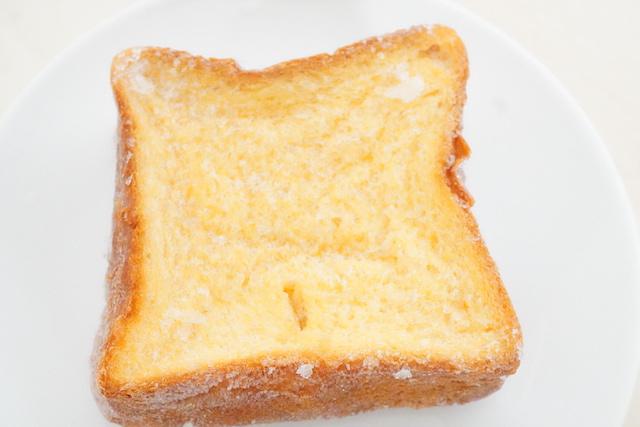 凍ったフレンチトースト