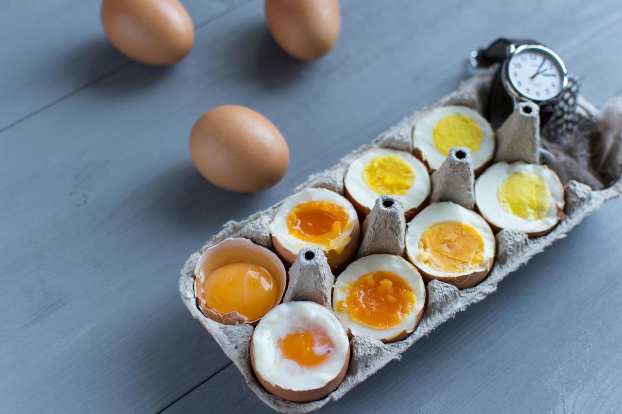 黒い 黄身 ゆで 卵