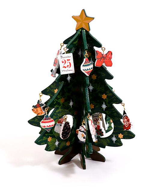3COINS<スリーコインズ> おすすめ新商品8選【12月9日】 【3COINS CHRISTMAS】MDFツリー