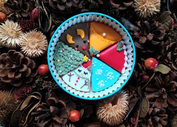 「クリスマスフード2020」クリスマスのクッキー缶 可愛い缶に入ったクリスマスのアイシングクッキー