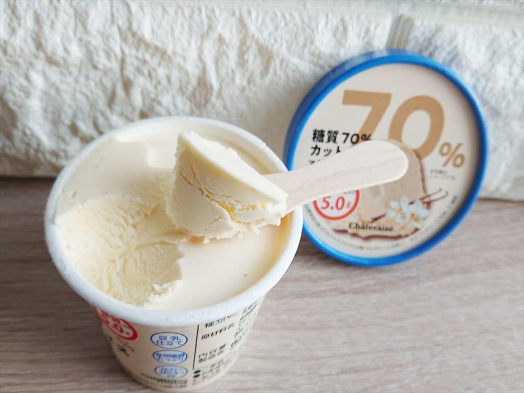 糖質70%カットのアイス マダガスカルバニラ
