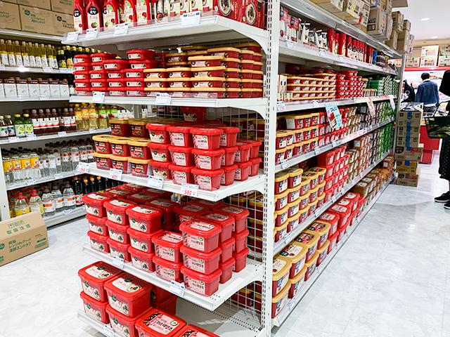 韓国の調味料「コチュジャン」も種類豊富にあります