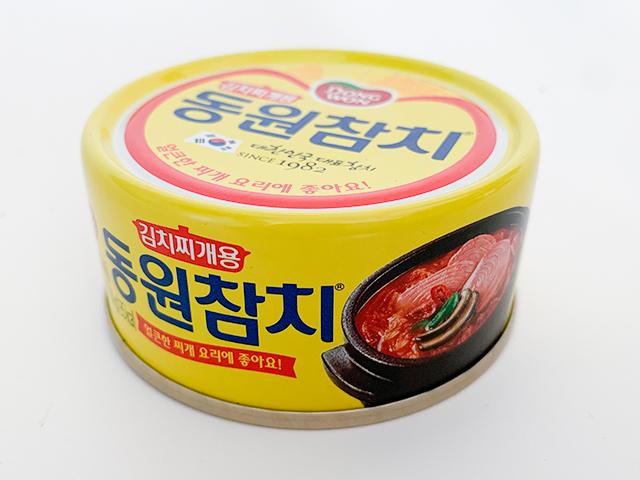 キムチチゲ用ツナ缶(181円)