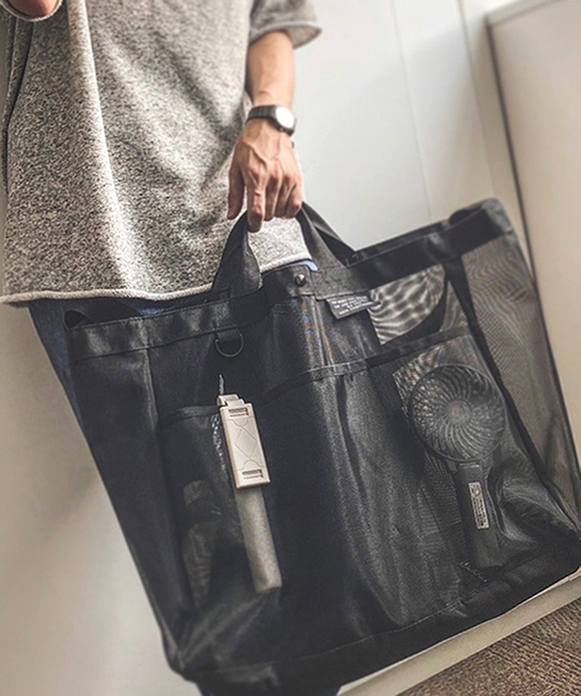 3COINS<スリーコインズ> の人気ランキング「バッグ 」TOP10【12月23日】 第1位 大容量メッシュバッグ