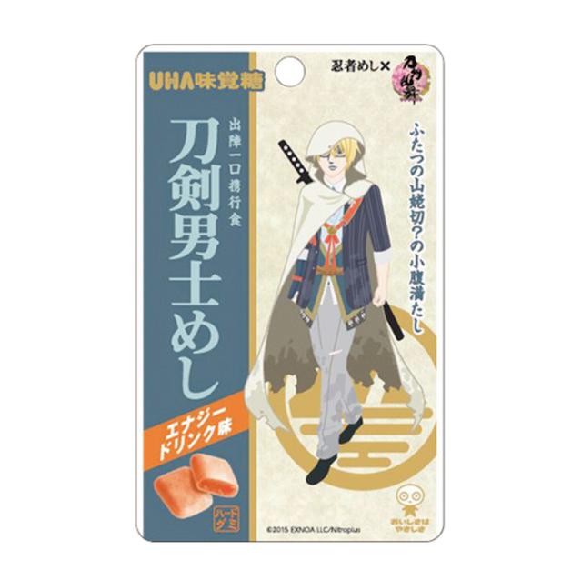 UHA味覚糖 刀剣男士めし エナジードリンク味
