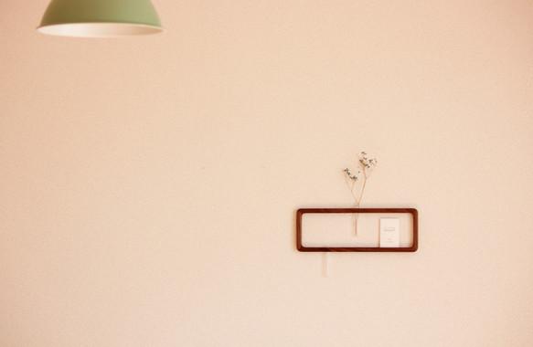 一輪挿し「answer frame」 (Lサイズ)ウォールナット